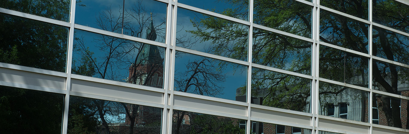 Windows of the Student Recreation Building