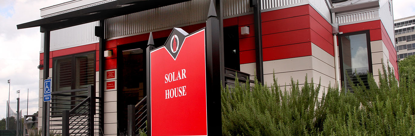 Solar House on the campus of the University of the Incarnate Word