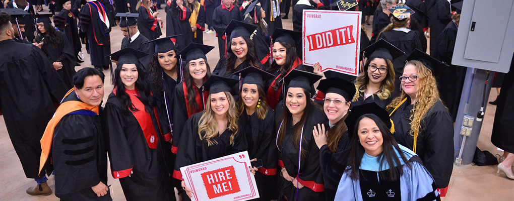 UIW Commencement Schedule